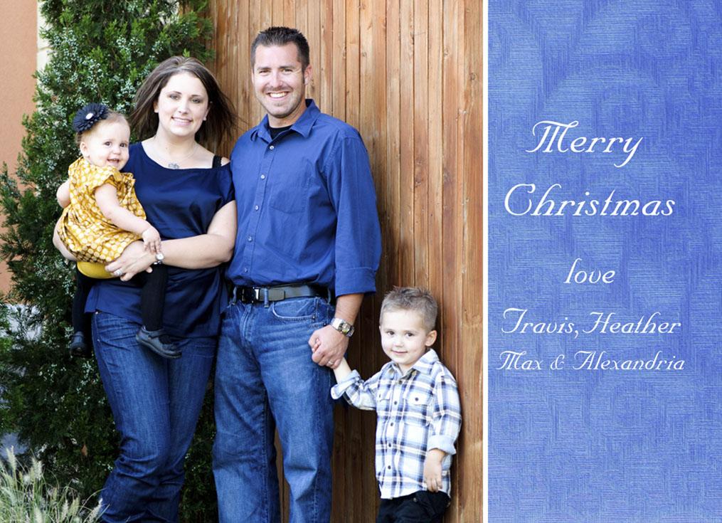 portrait christmas cards